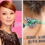 タトゥー、刺青を入れている意外な女性芸能人